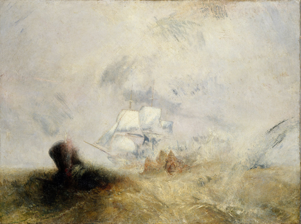 Turner and the Sea, JMW Turner Whalers (also known as The Whale Ship)