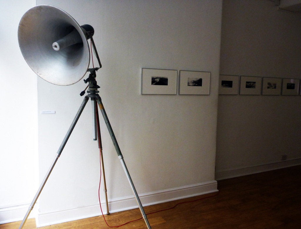Anaïs Tondeur in collaboration with Jean-Marc Chomaz. Recording from the wandering plates. Lost in Fathoms (installation image).  Image courtesy of the artist and GV Art Gallery