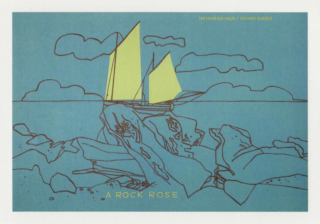 Ian Hamilton Finlay Rock Rose