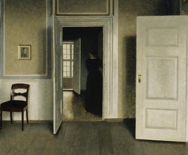 Vilhelm Hammershøi, Interior - Strandgade 30