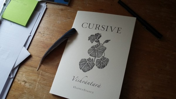 Vishvantara, Cursive - HappenStance Press