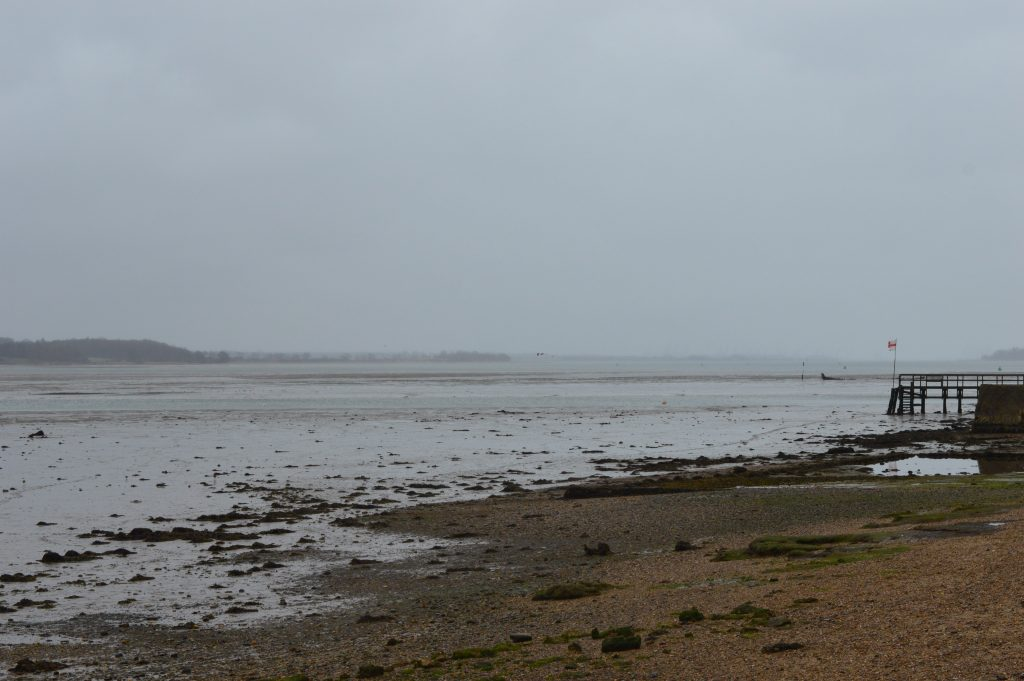 Mistley, downriver from Harwich, Essex