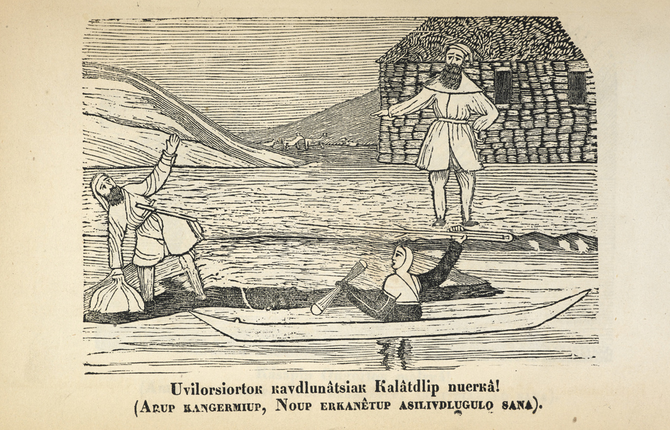 Lines in the Ice - Kalâdlit Okalluktualliait [Greenland Legends] (1859 and 1860 volumes).
