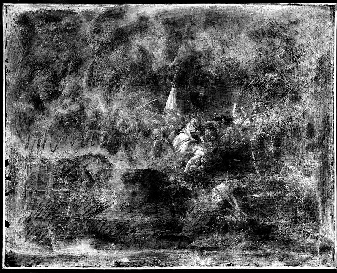 4. 73813 (Siege of Beauvais in 1472), 2016 -® C2RMF_ Alejandro Guijarro, Courtesy Tristan Hoare