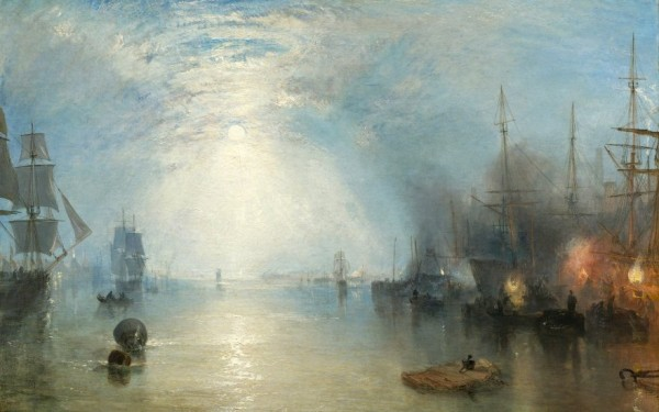 JMW Turner Keelmen heaving in Coal by MoonlightMoonlight