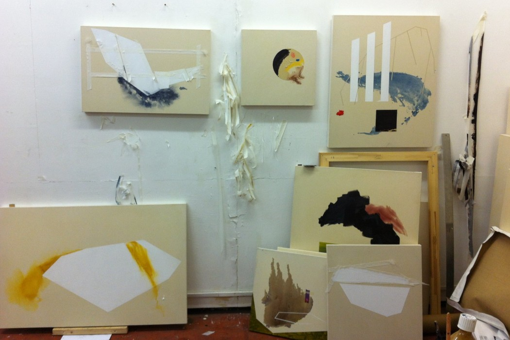 Trevor Kiernander art studio