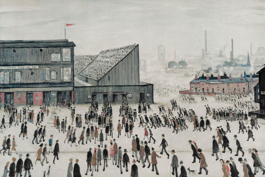 LS Lowry, Going to the Match