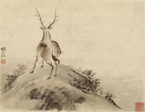 Gao Qipei - Stag. Walters Art Museum