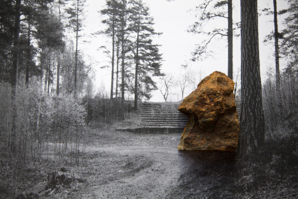 Emma Wieslander, The Weight of Stone, Park 1