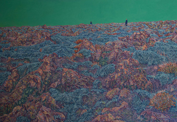 Joanna Kirk, On a Headland of Lava Beside You, 2014, Image courtesy the artist and BlainSouthern