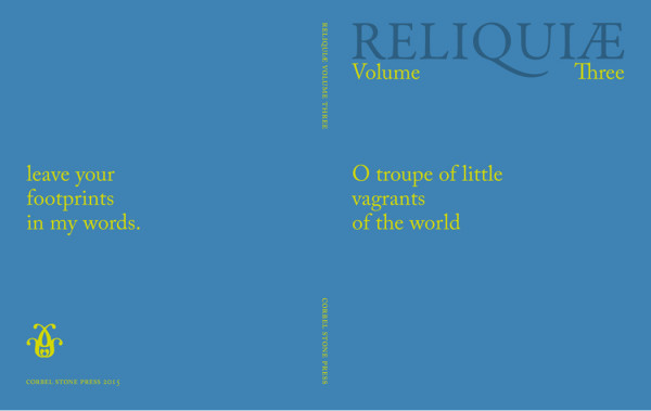 Corbel Stone Press - Reliquiae III