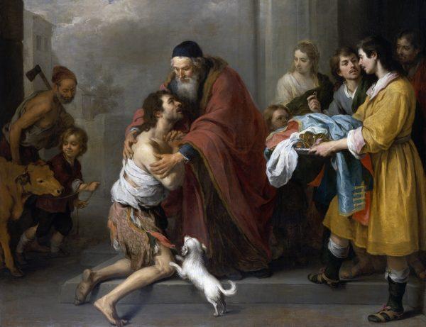 Bartolomé Esteban Murillo, The Return of the Prodigal Son