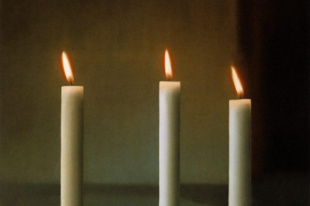 Gerhard Richter, Drei Kerzen (Three Candles), 1982