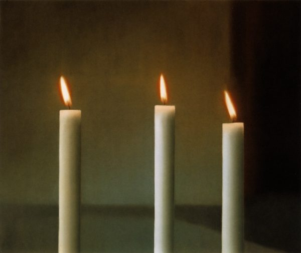 Gerhard Richter, Drei Kerzen (Three Candles), 1982